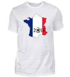 Fußball 2018 Frankreich Geschenkidee T-Shirt Mens Tops, Fashion, France, Football Soccer, Presents, Moda, Fashion Styles, Fasion