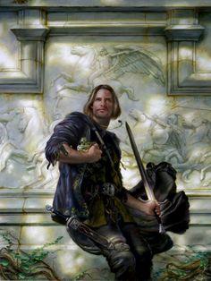 Donato Giancola _ Dark Moon Defender