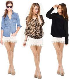 Crochet Lace Shorts <3