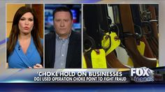 Gun store owner Mike Schuetz says the federal government forced his bank to close his recently opened account, all because he's a legal gun dealer.
