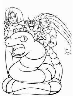 Disegni da colorare per bambini. Colorare e stampa Pokemon 20