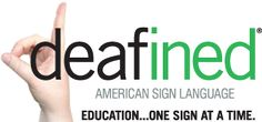 ASL Deafined | I am using this service to learn American Sign Language until I can take some formal courses. Definitely worth checking out of you're interested | asldeafined.com