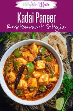 Kadai Paneer Recipe is a very famous Indian Cottage cheese recipe and is one of the most common dishes ordered in a restaurant. It is spicy and delicious.Restaurant I Style I Paneer I Indian I Recipe I Karahi I Kadhai Cheese Chilli Recipe, Chilli Recipes, Vegetarian Recipes, Cooking Recipes, Bhatura Recipe, Indian Paneer Recipes, Indian Food Recipes, Ash Recipe, Rezepte