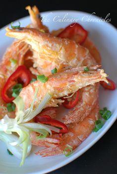 Tôm Rang Muối / Vietnamese Style Crispy Salted Prawns Recipe (The Culinary Chronicles)