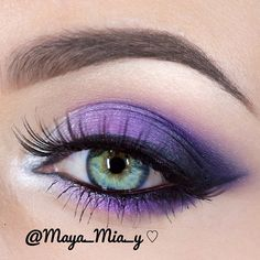 Purple and Silver using the Coastal Scents 252 Ultimate Palette - @maya_mia_y