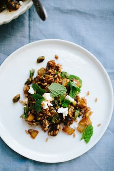 Caramelized Fennel and Farro Salad // Not Without Salt