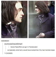 No, more like if JAMES had married Snape...