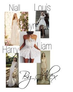 """His favorite white dress"" by alexis109 on Polyvore"