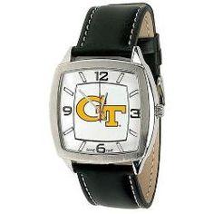 Georgia Tech GT Men's Vintage Style Retro Watch