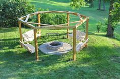 Thinking of improving your outdoor living space? Adding outdoor furniture is great when you have a roof to protect cushions against sudden rain. But if you have a wonderful open space, then this fire pit swing set is perfect for you! A fire pit swing set like this not only adds appealto your home, but is also a wonderful venue for spending quality time with family and friends. The owner/builder of this swing set decided he would make one for his grown up kids, and sure enough they frequ...