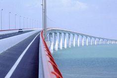 Bridge from La Rochelle to Ile de Re. Lifts my heart.