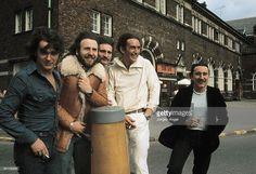 Photo of URIAH HEEP; Uriah Heep, John Wetton Lee Kerslake David Byron Ken Hensley Mick Box 1975