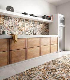 25 idee di piastrelle Patchwork per i pavimenti ed i rivestimenti ...