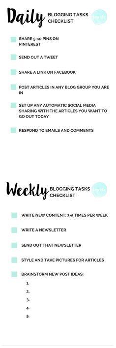blogging checklist-d