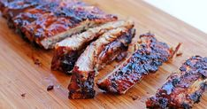 Spare Ribs, Yams, Barbecue, Banana Bread, Steak, Deserts, Pork, Food And Drink, Cooking Recipes