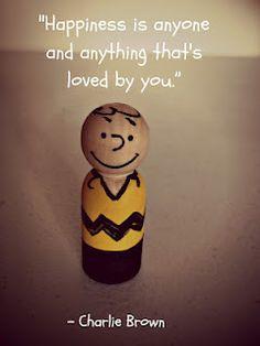 Charlie Brown Peg Doll