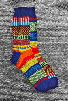 #Etsy finds   Hand Knit Unique Reversed Socks Men Socks Women Socks by LizSox, $80.00