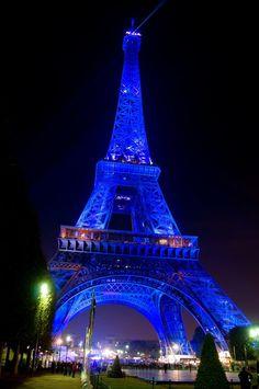 #Paris in #blue