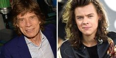Mick Jagger e Harry Style