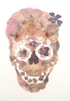 Flower skull 9