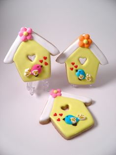 Bird houses. Copper cookie cutter by CopperGifts.com - It's perfect!