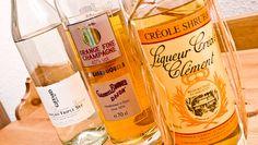 Orange Liquor Awards -- Best in Class -- Giffard Premium Curaçao Triple Sec, Gabriel Boudier Orange Fine Champagne and Clément Créole Shrubb bottles