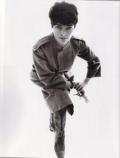 1963 - Balenciaga coat by William Klein