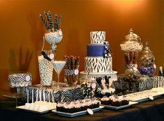 Torta alegorica Quince Años - Tematica Cebra