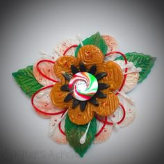 Polymer Clay Pieced Holiday Flower Tutorial by KatersAcres Sculpting Tutorials, Clay Tutorials, Make Your Own, Make It Yourself, How To Make, Christmas Holidays, Christmas Ornaments, Polymer Clay Flowers, Flower Tutorial