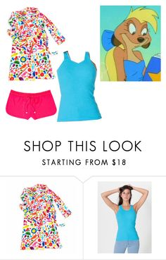 """""""Alika The Classified Materials Turbulence Morning"""" by brainyxbat ❤ liked on Polyvore featuring Dylan's Candy Bar, American Apparel and Juicy Couture"""
