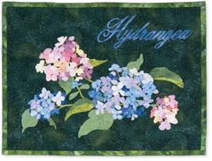 hydrangea quilt for my sister | things i want to make | Pinterest ... : hydrangea quilt fabric - Adamdwight.com