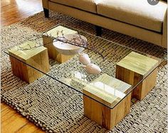 The How To Make A Cheap Coffee Table Diy Glass Top Coffee Tables Inspiration Ideas 1995 Decorating House contemporary elegant design small decorating house interior design apartment decoration large room pictures wallpaper hd Glass Top Coffee Table, Diy Coffee Table, Coffee Table Design, Glass Tables, Design Table, Cheap Side Tables, Table Cafe, Diy Table Top, Diy Holz