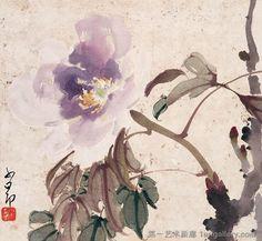 by Zhao Shaoang 赵少昂 (1905~1998 )  556251_374359829328534_1287446558_n.jpg (960×886)
