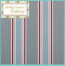 Image result for seaside striped fabric