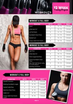 THE FIT AFFINITY LEAN & SCULPTED COMPLETE 12 WEEK WORKOUT GUIDE