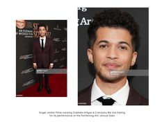 Singer Jordan Fisher wearing our Bar Axis Earring for his performance at the Performing Arts' Annual Gala Performing Arts, Fisher, Bar, News, Earrings, Ear Rings, Stud Earrings, Ear Piercings, Ear Jewelry