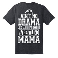 Ain't no drama just a loud and proud karate mama shirt, Karate mom t-shirt Volleyball Mom Shirts, Cheer Mom Shirts, Sports Shirts, Volleyball Designs, Softball Jerseys, Basketball Mom, Softball Mom, Hockey Mom, Wrestling Mom
