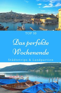 Want to discover new places? The lesser known but no less beautiful … – Urlaub / Ausflüge – Road Trip Europe Destinations, Popular Honeymoon Destinations, Honeymoon Places, Travel Europe, Weekend Trips, Vacation Trips, Europa Tour, Parfait, Motorhome Travels