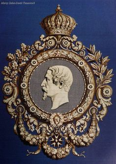 Cameo of Napoleon III by Maison Furnion, design Auguste Malpertuy, 1855.