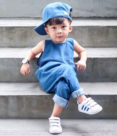 You can never own too much Denim 👌🏼💙😍💯 .S : I need this Denim Romper in my size plssss! Toddler Swag, Joker Pics, Life Is Precious, Baby Boy Photography, Denim Romper, Kids Boutique, Boys Suits, Kids Fashion Boy, Stylish Baby