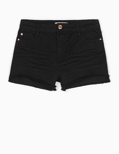 Stradivarius Colombia Short básico sarga - STAY - MUJER… Laura Ramos, Mary Kay, Black Denim Shorts, Lady, Clothes, Gallery, Fashion, Latin Women, Topcoat