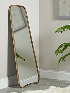 Full Length Mirrors, Large Long Free Standing Floor Mirrors for Sale UK Brass Mirror, Mirrors Uk, Mirrors For Sale, Mirror Wall, Floor Mirror, Light And Space, Mirror Table, Hallway Mirror, Full Length Mirror