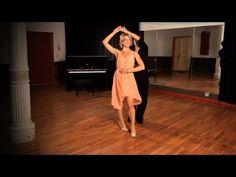 Foxtrot Promenade w/ Lady Underarm Turn | Ballroom Dance - YouTube