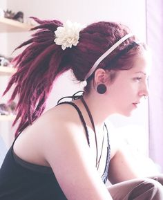 ♥ Gorgeous red dreads ♥