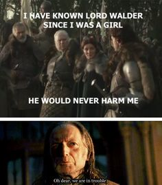 """21 Best Tumblr Reactions To """"Game Of Thrones"""" Red Wedding. If you didn't read this in his voice, you're wrong"""