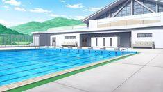 Edificio de la piscina