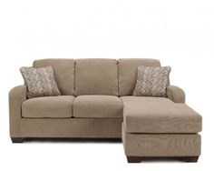 ASH-3180118 - Ashley Circa Taupe Sofa Chaise | Mathis Brothers Furniture