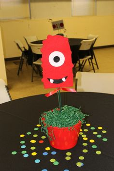Yo Gabba Gabba, could do something like this for monster party!