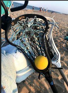 Beach laxin' is the best! Who misses summer! Custom strung Crux 600 with East Coast Dyes Venom mesh. Sports Basketball, Sports Art, Women's Basketball, Lacrosse Gear, Girls Lacrosse, Soccer Memes, Lacrosse Memes, Softball Quotes, Basketball Quotes