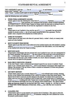 Contract Proposal Template Free Classy Download Roommate Agreement Template 05  My Style  Pinterest .